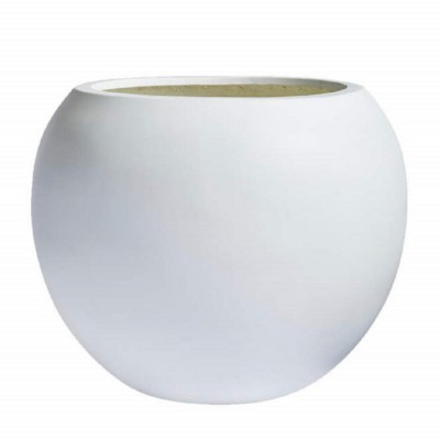 SPHERE LARGE PLANTER FIBERGLASS