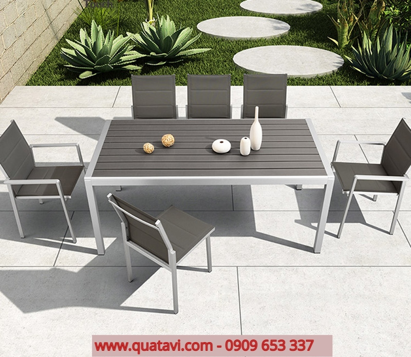 Garden Dining Table And Chair