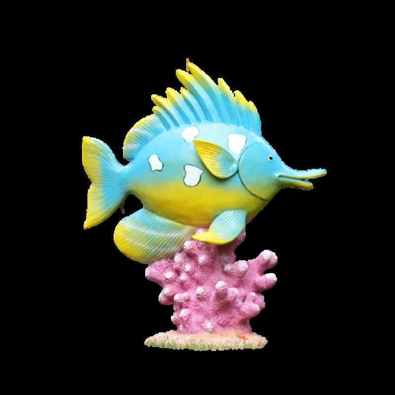 FISH MODEL MADE FROM FIBERGLASS